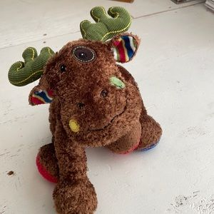 [ Mary Meyer Fluffy Moose Stuffed Animal Toy ]